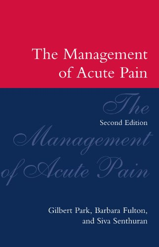 The Management of Acute Pain 9780192624673