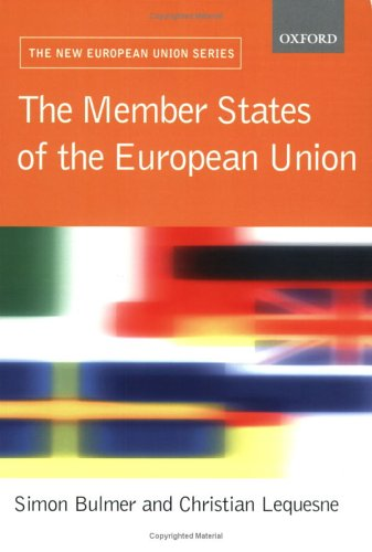 The Member States of the European Union 9780199252817