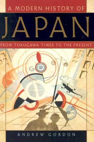 The Modern History of Japan: From Tokugawa Times to the Present