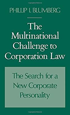 The Multinational Challenge to Corporation Law 9780195070613
