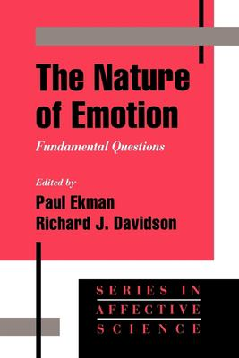 The Nature of Emotion: Fundamental Questions 9780195089448