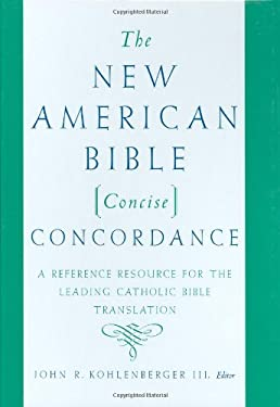 The New American Bible Concise Concordance 9780195282764