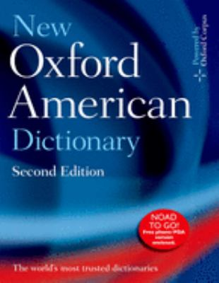 The New Oxford American Dictionary [With CDROM]