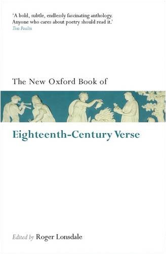 The New Oxford Book of Eighteenth-Century Verse 9780199560721