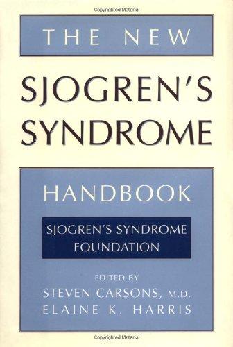 The New Sjogren's Syndrome Handbook 9780195117240