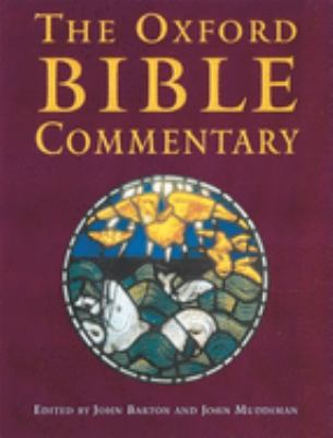 The Oxford Bible Commentary 9780198755005