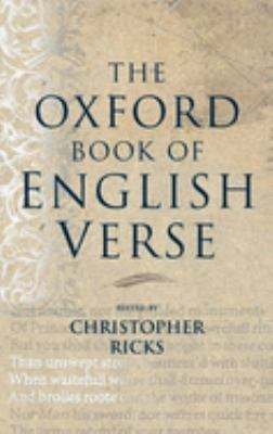 The Oxford Book of English Verse 9780192141828