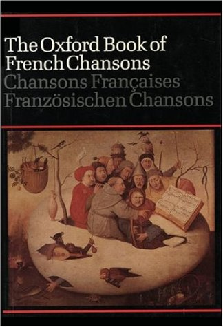 The Oxford Book of French Chansons 9780193435391