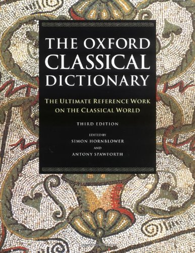 The Oxford Classical Dictionary 9780198661726