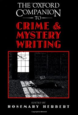 The Oxford Companion to Crime and Mystery Writing 9780195072396