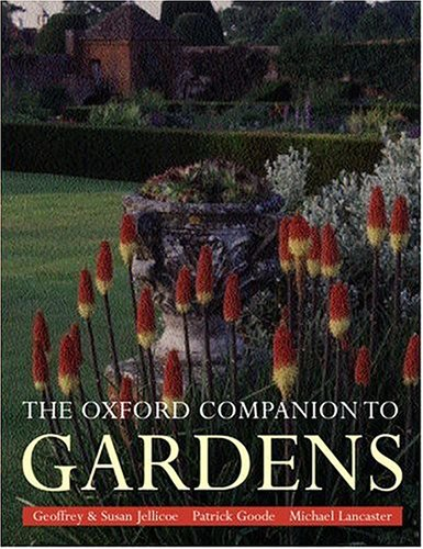 The Oxford Companion to Gardens 9780198604402