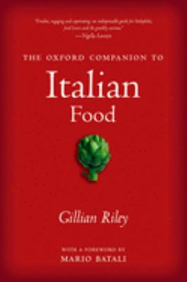 The Oxford Companion to Italian Food 9780198606178