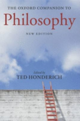 The Oxford Companion to Philosophy 9780199264797