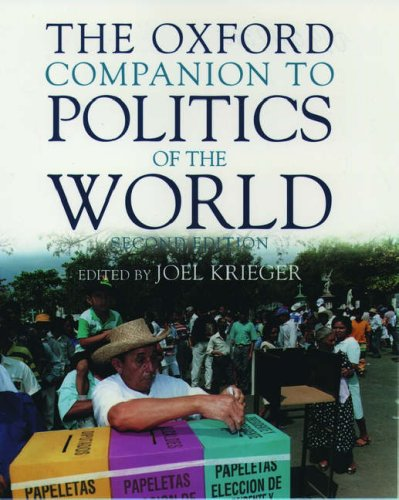 The Oxford Companion to Politics of the World 9780195117394