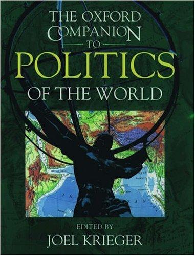 The Oxford Companion to Politics of the World 9780195059342