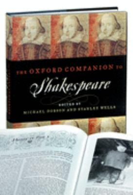 The Oxford Companion to Shakespeare 9780198117353