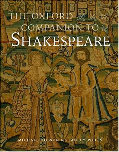 The Oxford Companion to Shakespeare 9780192806147