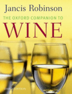 The Oxford Companion to Wine 9780198609902