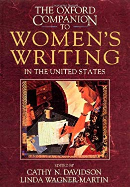 The Oxford Companion to Women's Writing in the United States 9780195066081