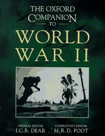 The Oxford Companion to World War II 9780198662259