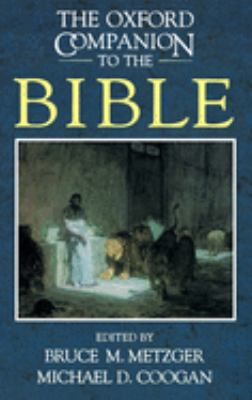 The Oxford Companion to the Bible 9780195046458