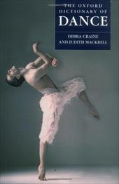 The Oxford Dictionary of Dance 572803