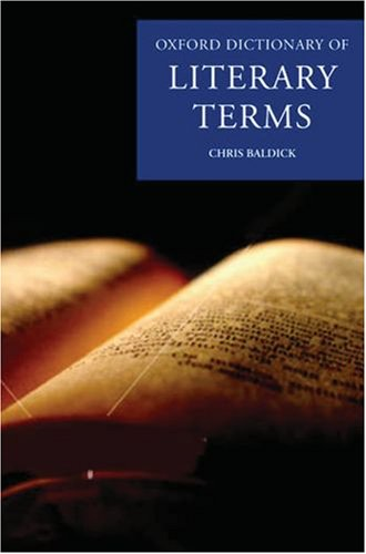 The Oxford Dictionary of Literary Terms 9780199238910