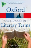 The Oxford Dictionary of Literary Terms 9780199208272