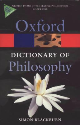 The Oxford Dictionary of Philosophy 9780199541430