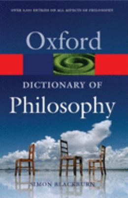 The Oxford Dictionary of Philosophy 9780198610137