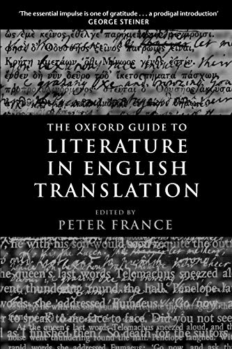 The Oxford Guide to Literature in English Translation 9780199247844