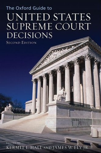 The Oxford Guide to United States Supreme Court Decisions 9780195379396