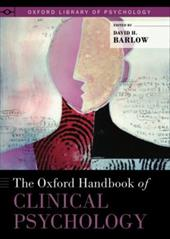The Oxford Handbook of Clinical Psychology