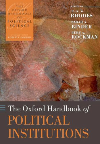 The Oxford Handbook of Political Institutions 9780199548460