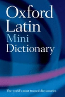 The Oxford Latin Mini Dictionary 9780199534388
