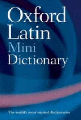 The Oxford Latin Minidictionary 9780198601395