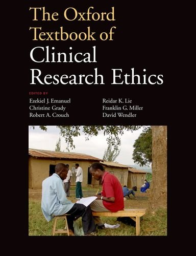 The Oxford Textbook of Clinical Research Ethics 9780199768639