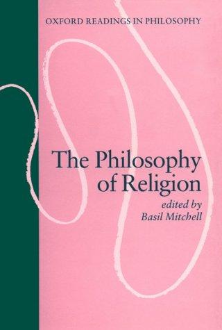 Philosophy of Religion 9780198750185