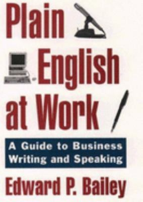 The Plain English Approach to Business Writing 9780195115659