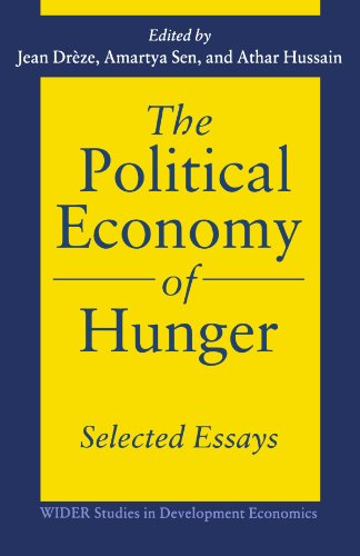 Political Economy of Hunger 9780198288831
