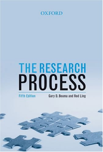 The Research Process 9780195517460