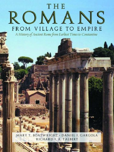 The Romans: From Village to Empire 9780195118759