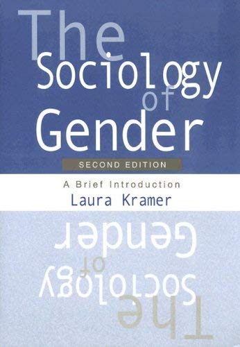 The Sociology of Gender: A Brief Introduction 9780195330281
