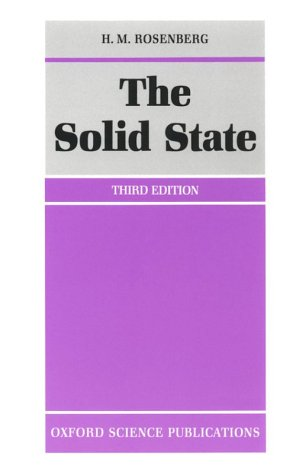 The Solid State: An Introduction to the Physics of Crystals for Students of Physics, Materials Science, and Engineering