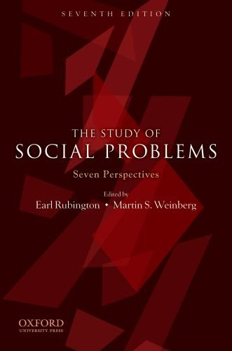 The Study of Social Problems: Seven Perspectives 9780199731879