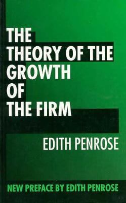 marris theory of growth of the firm The theory of the growth of the firm edit while at johns hopkins, penrose participated in a research project on the growth of firms she came to the conclusion that the existing theory of the firm was inadequate to explain how firms grow.