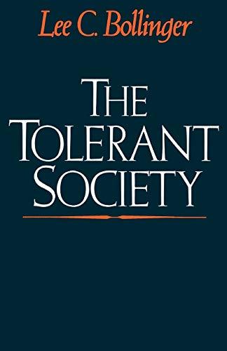 The Tolerant Society 9780195054309