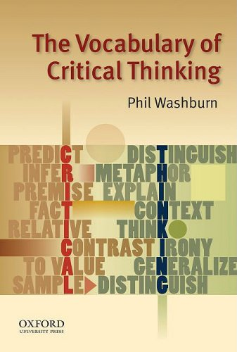 The Vocabulary of Critical Thinking 9780195324808