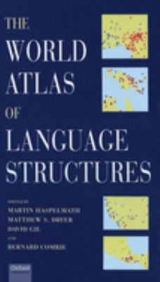 The World Atlas of Language Structures [With CDROM]