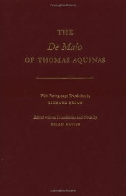 The de Malo of Thomas Aquinas 9780195091823